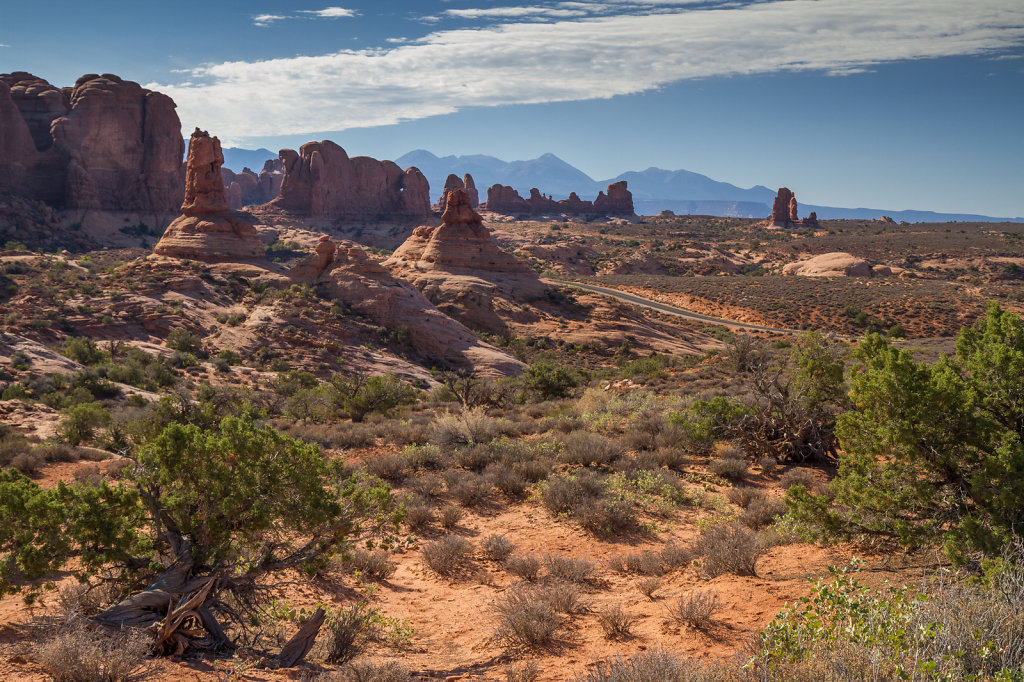 Sight in Arches National Park. Utah, USA.